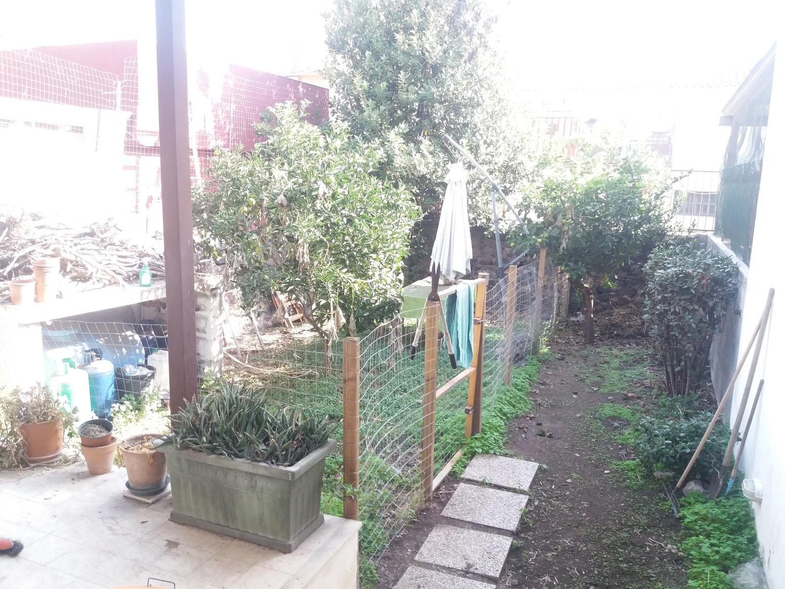 4 vani con giardino piano terra via fortino vecchio